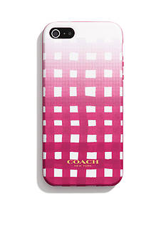 COACH BOXED IPHONE 5 CASE