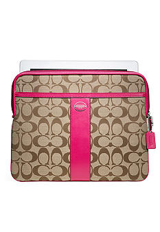 COACH SIGNATURE IPAD SLEEVE