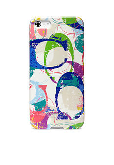 COACH POPPY STAMPED C IPHONE 5 CASE