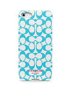 COACH SIGNATURE IPHONE 5 CASE