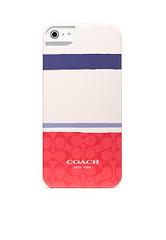 COACH PAINTED SIGNATURE IPHONE 5 CASE