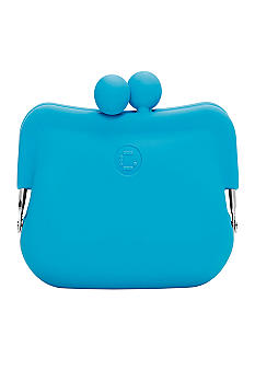 Candy Store Silicone Coin Purse-Peppermint Blue