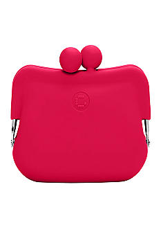 Candy Store Silicone Coin Purse-Cherry Red