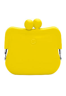 Candy Store Silicone Coin Purse-Lemon Yellow