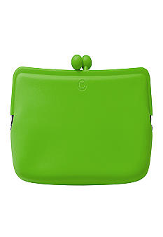 Candy Store Silicone Cosmetic Pouch-Apple Green
