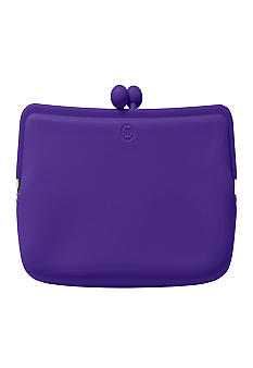 Candy Store Silicone Cosmetic Pouch-Grape Purple