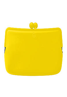 Candy Store Silicone Cosmetic Pouch-Lemon Yellow