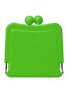 Candy Store Silicone Purse Mirror-Apple Green
