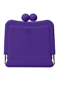 Candy Store Silicone Purse Mirror-Grape Purple