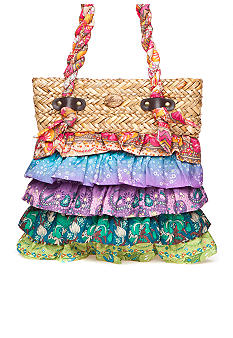 Cappelli Medium Ruffle Fabric Bag
