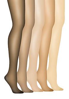 Hanes Silk Reflections Plus Control Top Enhanced Toe Pantyhose