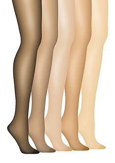 Hanes Silk Reflections Plus Control Top Enhanced Toe Pantyhose