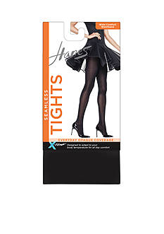 Hanes Seamless Wide Waistband Tights