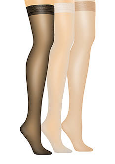 Hanes Silk Reflections Thigh High