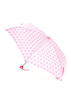 Totes Pink Ribbon Mini Manual Umbrella