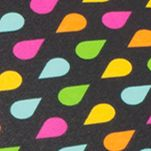 Women's Umbrellas: Black Rain Totes Mini Auto Open Umbrella