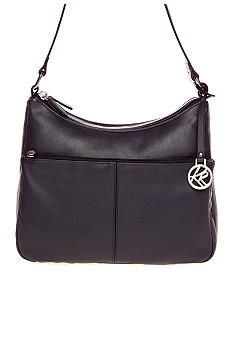 Kim Rogers Double Entry Leather Hobo