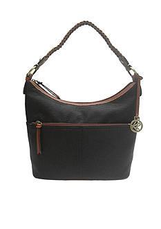 Kim Rogers® Mary Top Zip Bucket Handbag