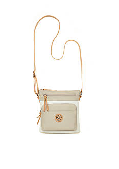 Kim Rogers Waxy Pebble Two Tone Minibag