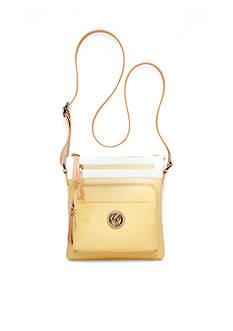 Kim Rogers® Waxy Pebble Two Tone Minibag