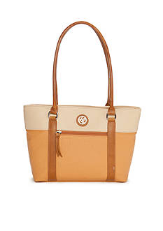 Kim Rogers Horizon Colorblock Shoppers Tote