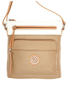 Kim Rogers North/South Color Block Crossbody