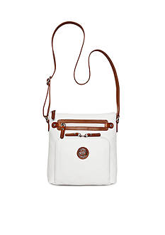 Kim Rogers Two-Tone Crossbody