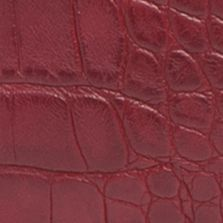 Shoulder Bags: Oxblood Kim Rogers Melbourne Croco Hobo