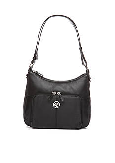 Kim Rogers Leather Bucket Shoulder Bag