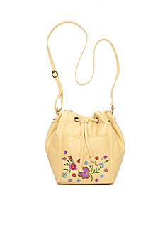 Bueno Embroidered Mini Drawstring Bag