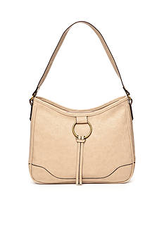 Bueno Vegan Tan Ring Hobo Bag