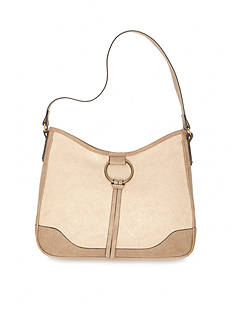 Bueno Veg Tan Ring Hobo Bag