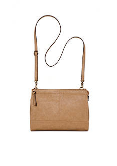 Bueno Veg Tan Top-Zip Crossbody