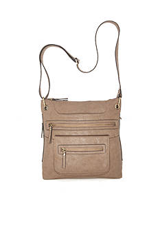 Bueno Vegan Multi Zip Crossbody
