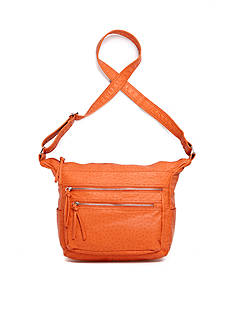Bueno Washed Ostrich Crossbody
