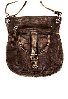 Bueno Washed Mini Croco Crossbody