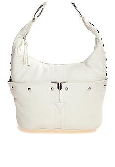 Bueno Washed Mini Croco Hobo