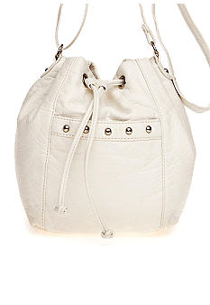 Bueno Washed Pebble Drawstring Mini Bag