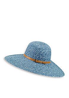 Betmar Ramona Belted Straw Hat