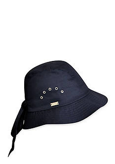 Betmar Knotted Cloche Tie Hat