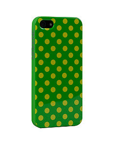 GREENE Greene and Gray Polka Dot iPhone 5 Case
