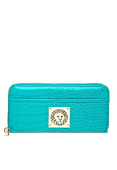 Anne Klein Color Rush Zip Around Wallet