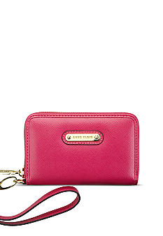 Anne Klein Geo Clash Zip Around Wallet