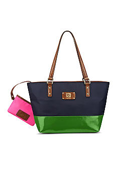 Anne Klein Petal Pusher Medium Tote
