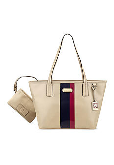 Anne Klein Geo Clash Medium Tote