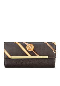 Anne Klein Leo Lizard Continental Wallet