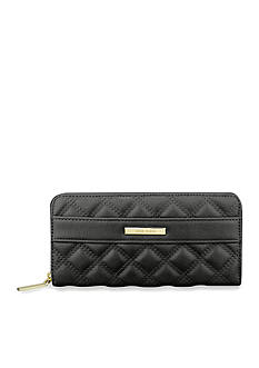 Anne Klein Shimmer Down II Zip Around Wallet