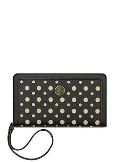 Anne Klein Front Runner Medium Wristlet