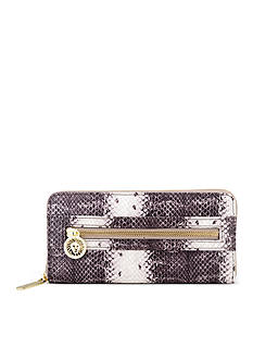 Anne Klein Dressed To Quilt Zip Around Wallet