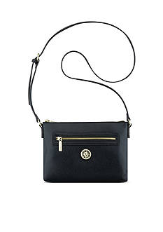 Anne Klein All In Top Zip Crossbody Bag